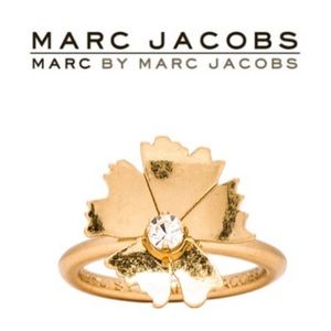 Marc by Marc Jacobs Pinwheel Flower Ring Sz 8 NWOT